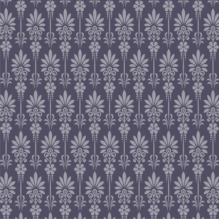 Nahtlose Retro wallpaper  Standard-Bild - 7498865