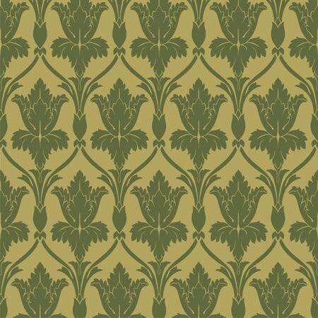 goldy: retro wallpaper seamless  Illustration
