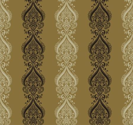 retro wallpaper seamless Stock Vector - 7498864