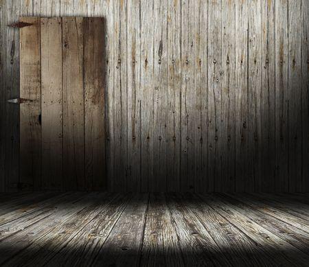 old interior door
