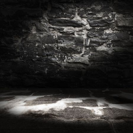 Alt Grunge-Interieur
