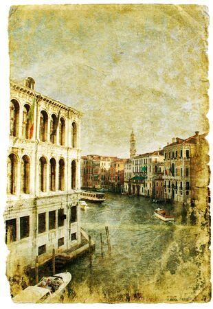 Venice - great italian landmarks - retro styled picture Stock Photo - 9242746