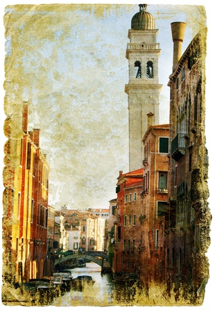 Venice - great italian landmarks - retro styled picture Stock Photo - 9242611