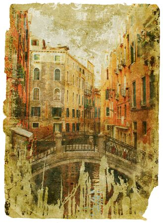 Venice - great italian landmarks - retro styled picture Stock Photo - 9242930