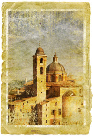 Urbino - retro style  photo