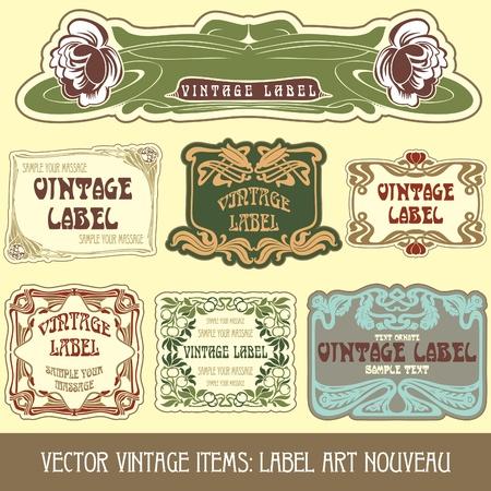 stile liberty: pezzi vintage: etichetta Liberty