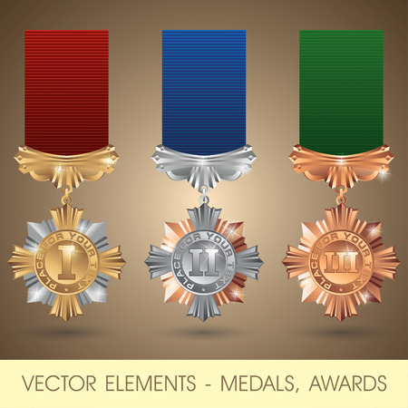 orden: elements - medals, awards Illustration