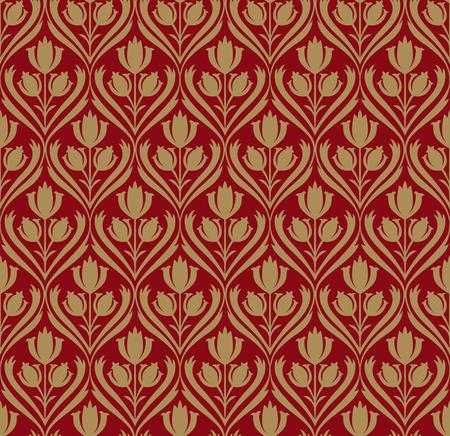 goldy: sin fisuras papel tapiz retro