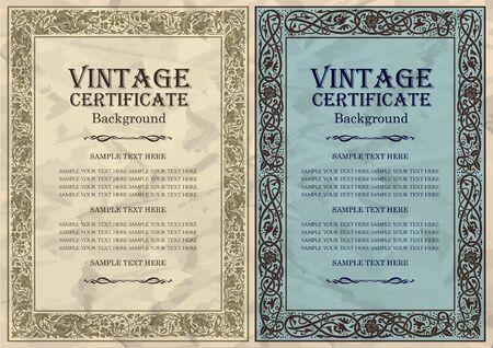 conception des ossatures Vintage