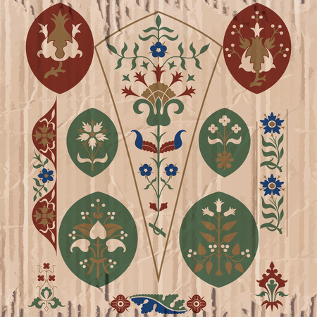 gothic design: Floriated ornament - pattern