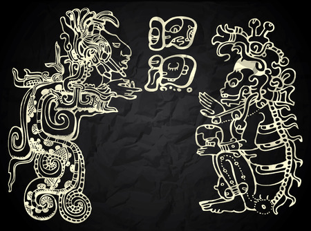 antiquities: Mexico and Peru native art in black and white