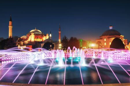 illuminated: Illuminated Sultan Ahmed Mosque