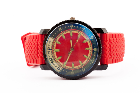 red mans watch
