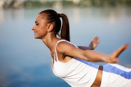 Sport woman training