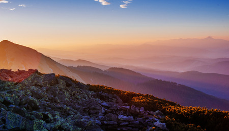 magnificent of sunrise