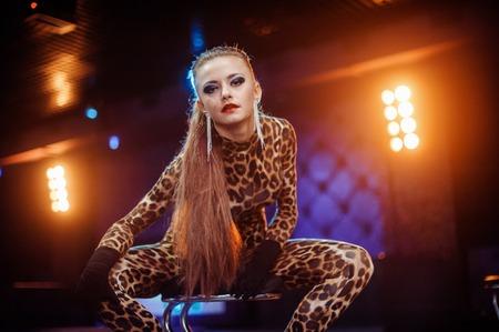 gogo girl: sexy girls in club Lizenzfreie Bilder