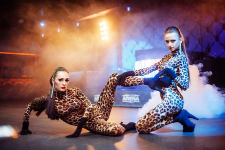 gogo girl: Sexy Mädchen im Club