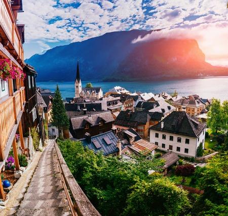 alpine village Hallstatt