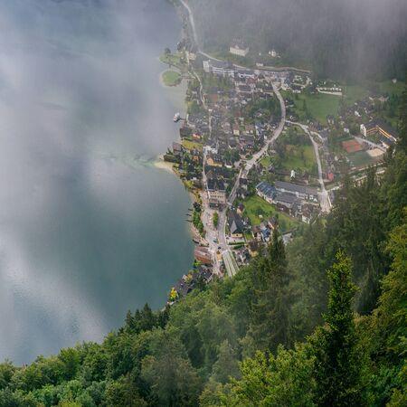fog over the city Stock Photo