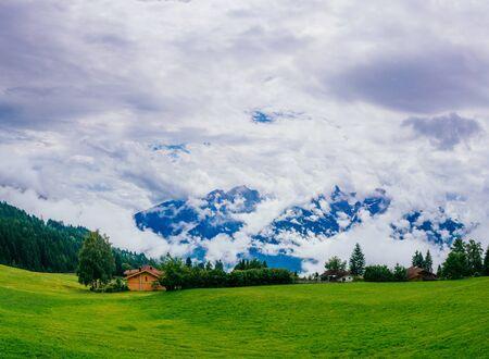 wonderful summer Alps