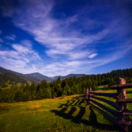 haycock: Colorful summer landscape