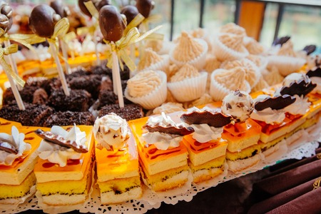 Catering bij een luxe evenement Stockfoto