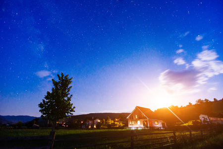 house under the stars