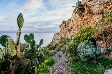salina: Beautiful views of the cliffs