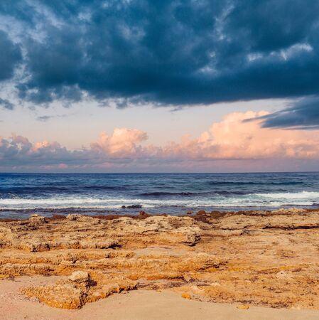 Beautiful sea landscape at ocean Beach