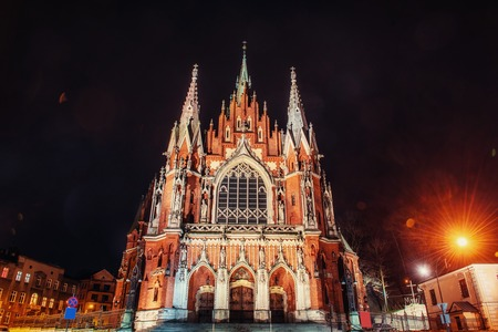 st  joseph: Church St. Joseph in Krakow, Poland.