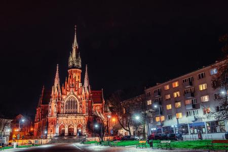 st  joseph: Church St. Joseph in Krakow, Poland