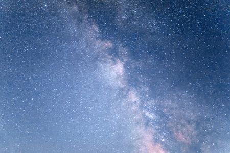 astrophoto: deep sky astrophoto. Beauty world. Carpathians Ukraine Europe. Stock Photo