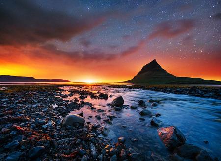 Fantastic views the landscape of Iceland