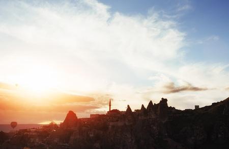 Cappadocia, Anatolia, Turkey. Open air museum Goreme national park