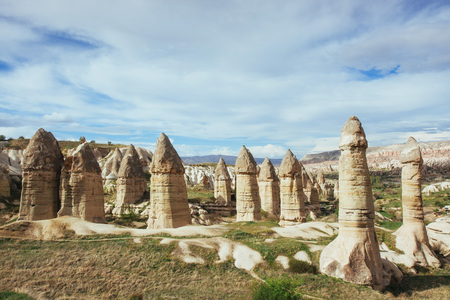 valley of love in summertime, Goreme, Cappadocia Turkey