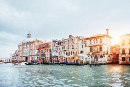 Venice - Grand canal from Rialto bridge. Italy. Stock Photo