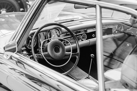 restored: Luxury car interior