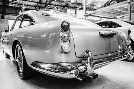 Rear view of a car Stok Fotoğraf