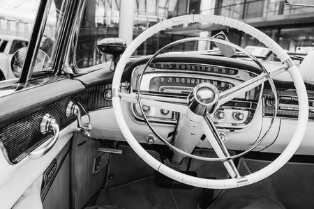 Retro interior of old automobile Banco de Imagens - 85949219