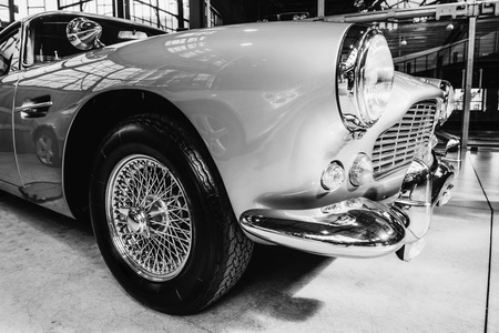 restored: The exhibition of beautiful vintage cars.