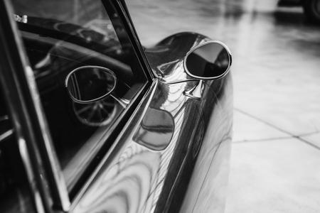 vintage transport retro car. Beautiful Exhibition 版權商用圖片