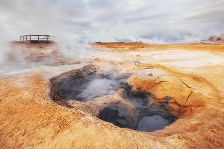 Iceland the Country of Vulcans, Hot Springs, Ice, Waterfalls, Unspoken Weather, Smokes, Glaciers, Strong Rivers, Beautiful Colorful Wild Nature, Lagoons, Amazing Animals Aurora Lava Tundra