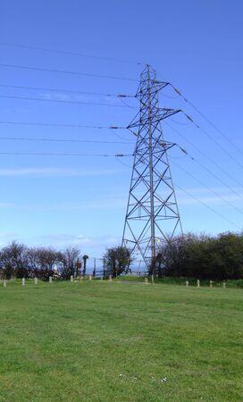 a pylon in summer. Imagens - 2790552
