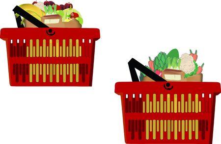 contenitori di frutta e Vegetale
