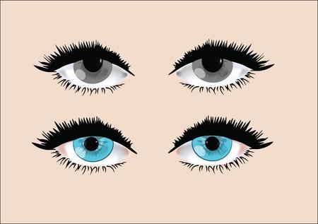gli occhi delle donne