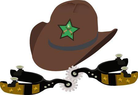 cappellocom stella Emblema Vettoriali