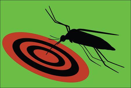 annoying: annoying bug Illustration
