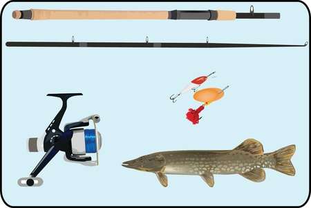 pesca sportiva ATTREZZATURE