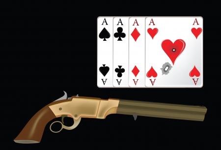 네 개의 에이스와 총