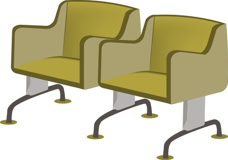 armrests: chair waiting